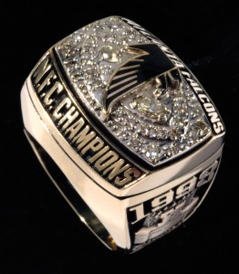 Atlanta Falcons NFC Championship ring