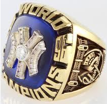 World Series ring replica Yankees