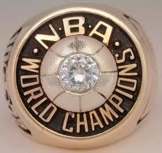 Old Lakers NBA Championship ring