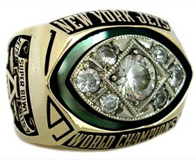 1969 New York Jets Super Bowl Championship Ring