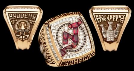 New Jersey Devils Championship Rings