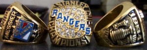 New York Rangers Stanley Cup ring