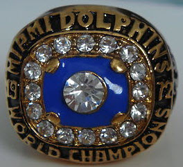 1972 Dolphins ring