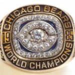 Chicago Bears Super Bowl XX champions ring