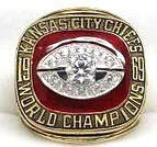 Replica KC Chiefs Super Bowl ring