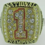 Texas Longhorns NCAA championship ring