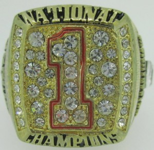 Texas Longhorns Championship Rings