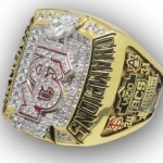 Florida State 2013 National Championship Replica ring
