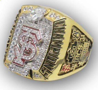 Florida State National Championship replica ring