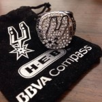 2014 Spurs championship replica ring