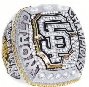 San Francisco Giants 2014 World Series ring
