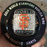 2014 World Series replica ring